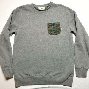 Vans sweatshirt medium gray crewneck